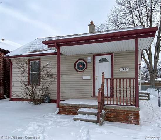 1513 Ferris Ave, Lincoln Park, MI 48146 (MLS #2210005829) :: The BRAND Real Estate