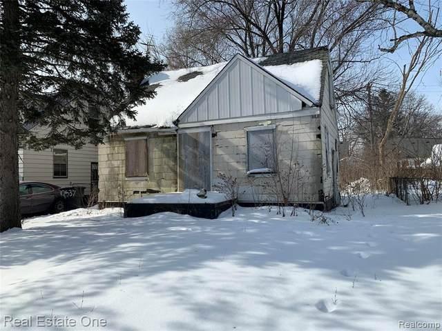 12545 Whitehill St, Detroit, MI 48224 (MLS #2210011580) :: The BRAND Real Estate