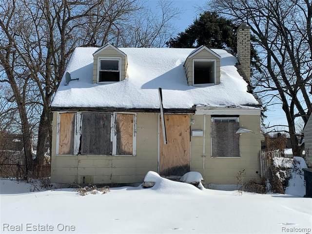 12500 Whitehill St, Detroit, MI 48224 (MLS #2210011288) :: The BRAND Real Estate