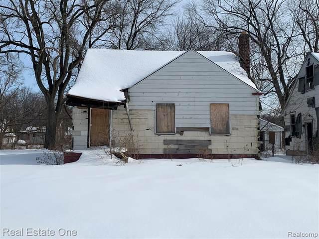 12518 Whitehill St, Detroit, MI 48224 (MLS #2210011299) :: The BRAND Real Estate