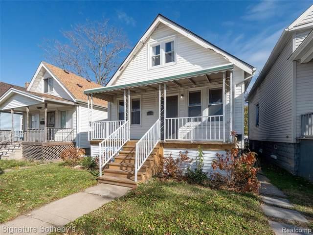 11390 Nagel St, Hamtramck, MI 48212 (MLS #2210011892) :: The BRAND Real Estate