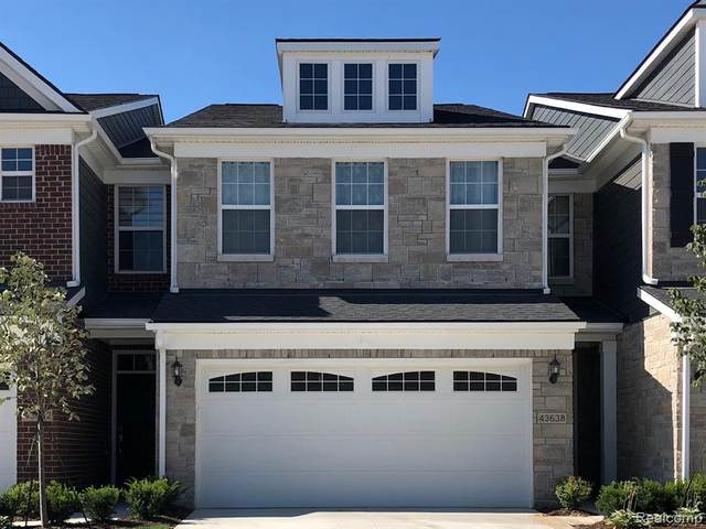 43283 Heron Dr Unit#037, Novi, MI 48375 (MLS #2210012218) :: The BRAND Real Estate