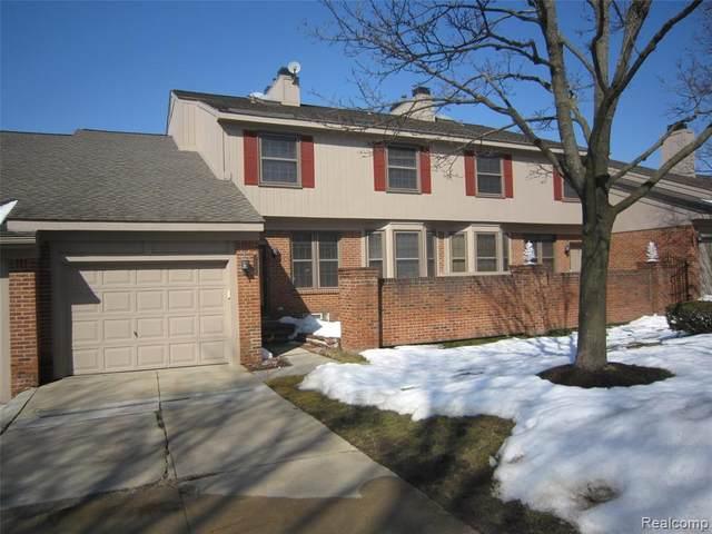 7288 Danbrooke, West Bloomfield, MI 48322 (MLS #2210012765) :: The BRAND Real Estate