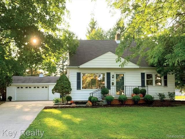 519 Seminole, Tecumseh, MI 49286 (MLS #2210013063) :: The BRAND Real Estate