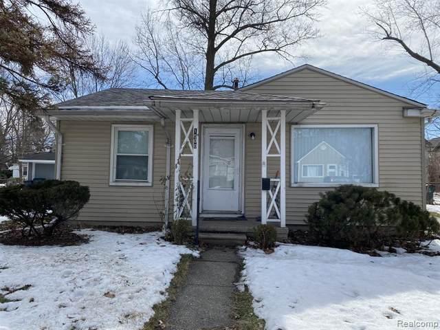 1600 Silman St, Ferndale, MI 48220 (MLS #2210013180) :: The BRAND Real Estate