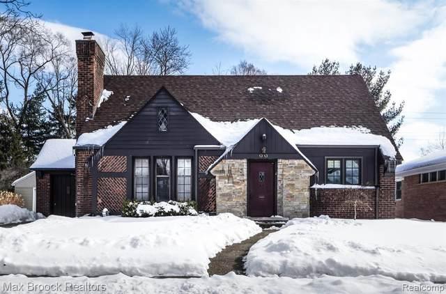 99 Maplefield Rd, Pleasant Ridge, MI 48069 (MLS #2210013233) :: The BRAND Real Estate