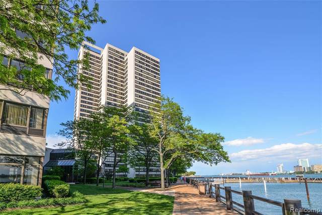 1001 W Jefferson Ave Unit#2E-Bldg#30, Detroit, MI 48226 (MLS #2210013285) :: The BRAND Real Estate