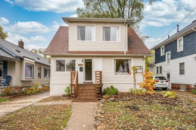 351 Saint Louis St, Ferndale, MI 48220 (MLS #2210013316) :: The BRAND Real Estate
