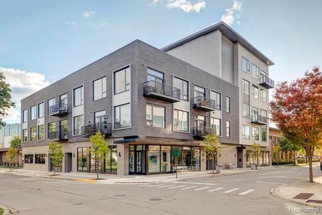 750 Forest 303 St N Unit#303-Bldg#1, Birmingham, MI 48009 (MLS #2210013567) :: The BRAND Real Estate