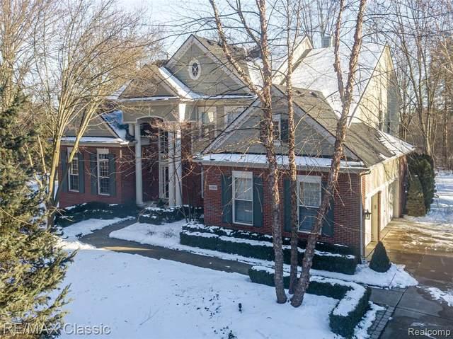 46866 Sunnybrook Ln, Novi, MI 48374 (MLS #2210008898) :: The BRAND Real Estate