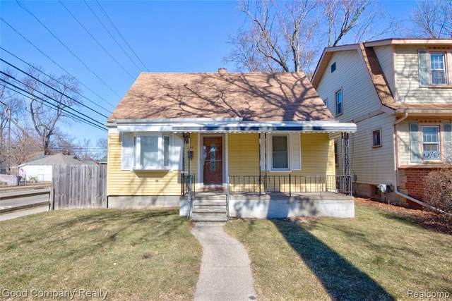 390 Leroy St, Ferndale, MI 48220 (MLS #2210013074) :: The BRAND Real Estate