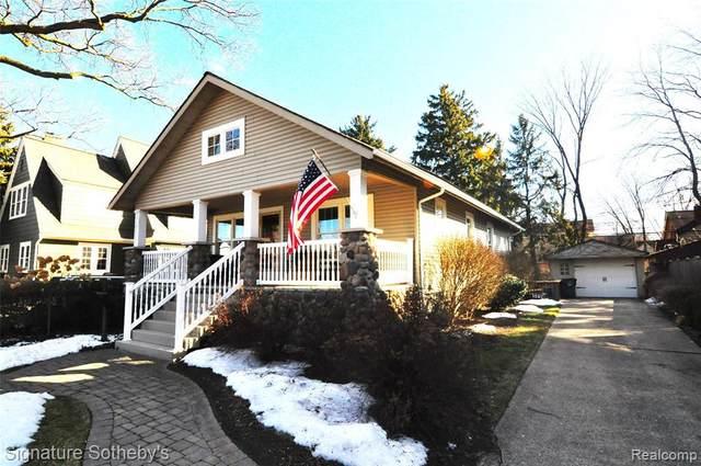 249 W Oakridge St, Ferndale, MI 48220 (MLS #2210013721) :: The BRAND Real Estate