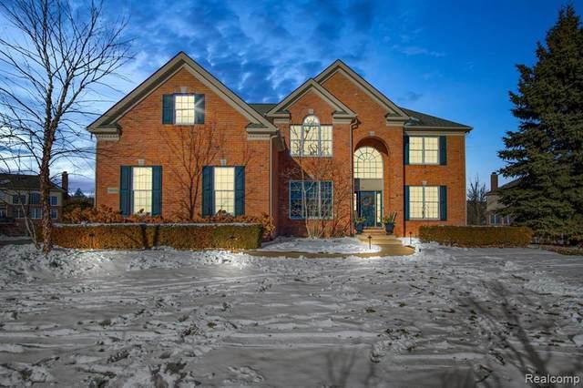 50528 Eagles Nest, Northville, MI 48168 (MLS #2210013837) :: The BRAND Real Estate