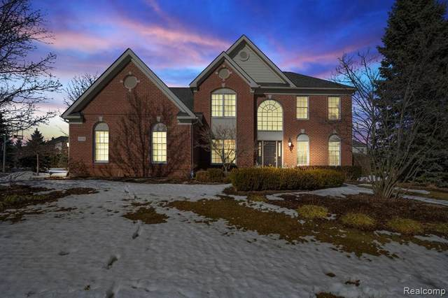18776 Bayberry Way, Northville, MI 48168 (MLS #2210013901) :: The BRAND Real Estate