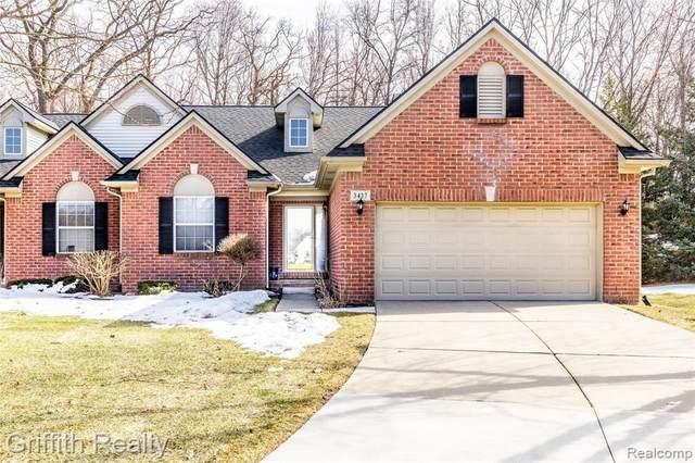 3437 Dewdrop Ln, Howell, MI 48843 (MLS #2210012603) :: The BRAND Real Estate