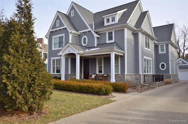 547 Southfield Rd, Birmingham, MI 48009 (MLS #2210013460) :: The BRAND Real Estate