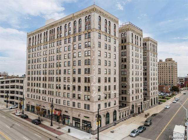 15 E Kirby St Apt 1128 Unit#1128, Detroit, MI 48202 (MLS #2210012727) :: The BRAND Real Estate