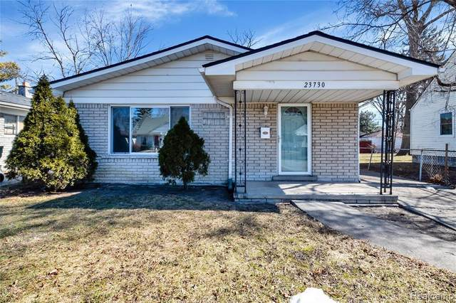 23730 Tawas Ave, Hazel Park, MI 48030 (MLS #2210013149) :: The BRAND Real Estate