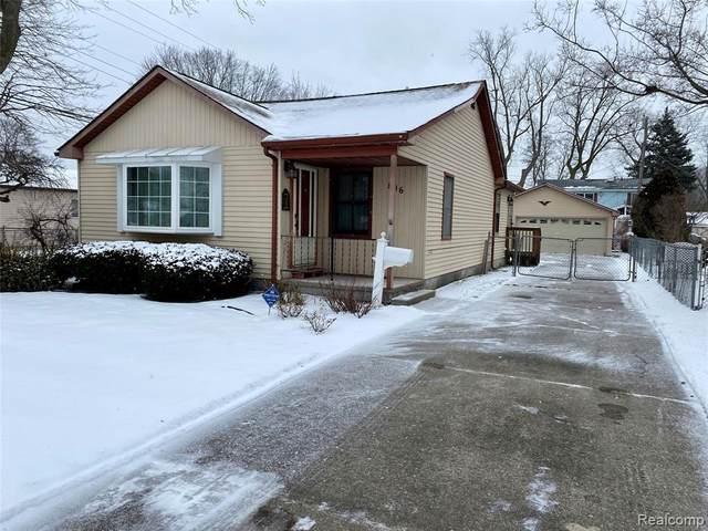 846 Harrison St, Garden City, MI 48135 (MLS #2210014275) :: The BRAND Real Estate