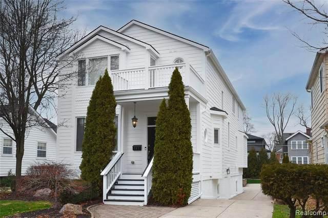 787 Humphrey Ave, Birmingham, MI 48009 (MLS #2210014548) :: The BRAND Real Estate