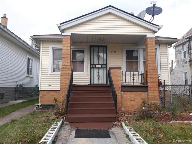2425 Botsford St, Hamtramck, MI 48212 (MLS #2210014600) :: The BRAND Real Estate