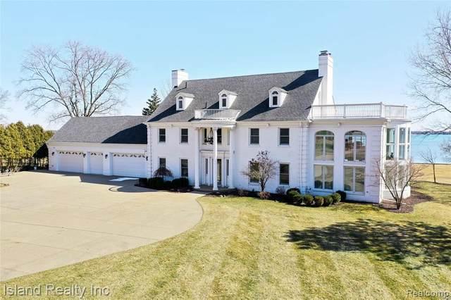 26505 E River Rd, Grosse Ile, MI 48138 (MLS #2210017568) :: Kelder Real Estate Group