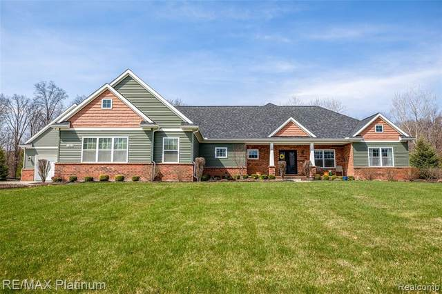 1322 Xanadu Court, Brighton, MI 48114 (MLS #2210023158) :: The BRAND Real Estate