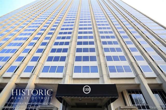 1300 E Lafayette #610-11, Detroit, MI 48207 (MLS #2210024113) :: The BRAND Real Estate
