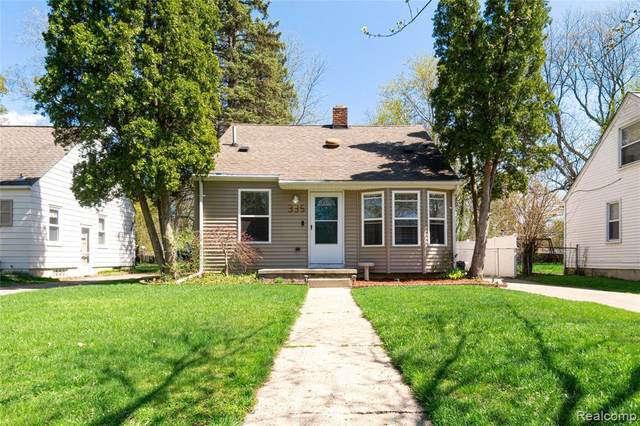 335 Ascot Ave, Waterford, MI 48328 (MLS #2210025767) :: The BRAND Real Estate