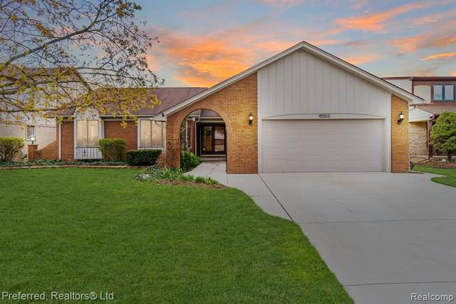 45513 Holmes Dr, Canton, MI 48187 (MLS #2210008367) :: The BRAND Real Estate