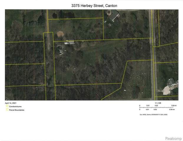 3375 Herbey St, Canton, MI 48188 (MLS #2210026469) :: The BRAND Real Estate