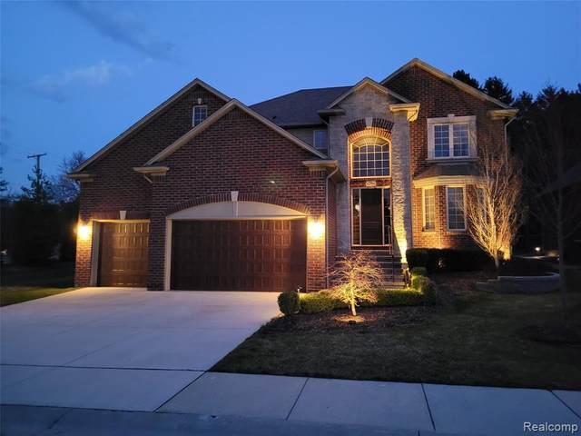62994 Franklin Park Dr, Washington, MI 48094 (MLS #2210026667) :: The BRAND Real Estate