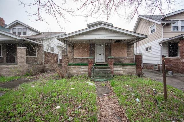 15810 Normandy St, Detroit, MI 48238 (MLS #2210027835) :: The BRAND Real Estate