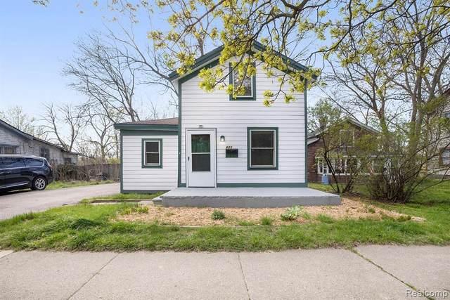 621 N River St, Ypsilanti, MI 48198 (MLS #2210026963) :: The BRAND Real Estate