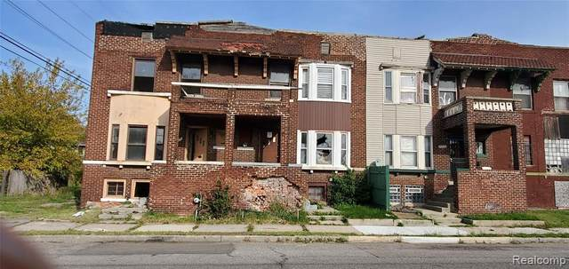 9118 Brush St, Detroit, MI 48202 (MLS #2210027224) :: The BRAND Real Estate
