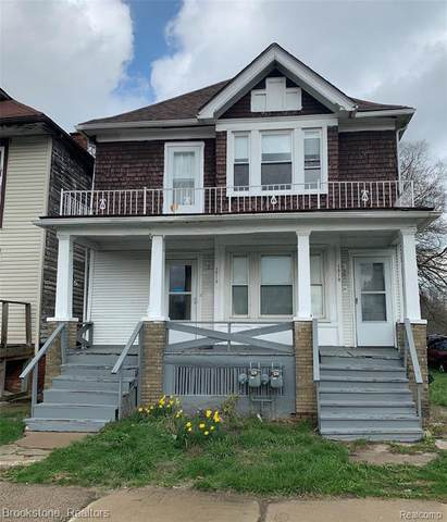 1310 Chalmers St, Detroit, MI 48215 (MLS #2210028006) :: The BRAND Real Estate