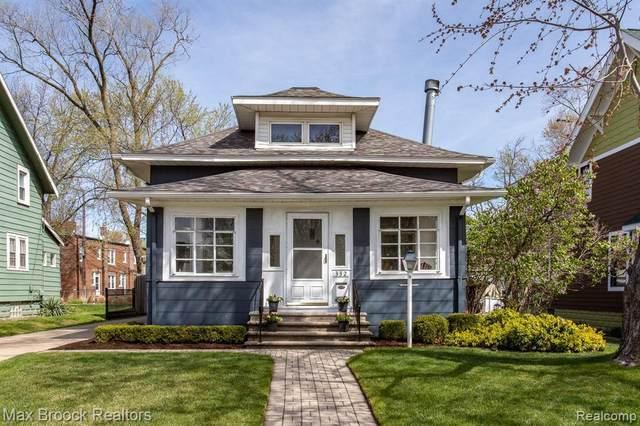 332 W Parent Ave, Royal Oak, MI 48067 (MLS #2210022171) :: The BRAND Real Estate