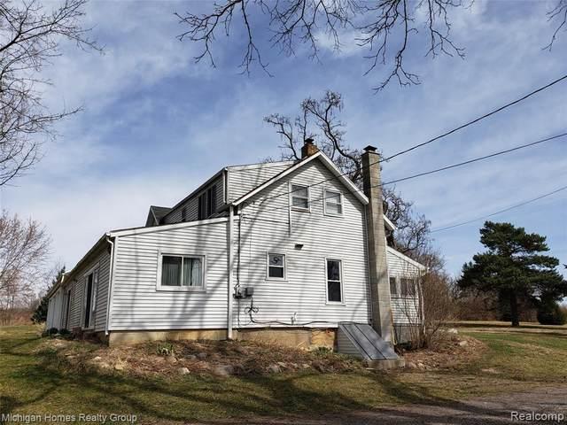 1286 Baldwin Rd, Lapeer, MI 48446 (MLS #2210031713) :: The BRAND Real Estate