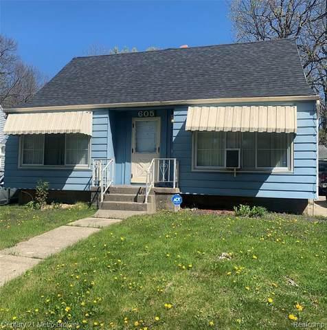 605 Bradley Ave, Flint, MI 48503 (MLS #2210031812) :: The BRAND Real Estate