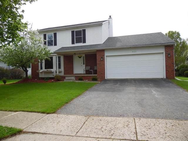 463 Berkshire Dr, Saline, MI 48176 (MLS #3280236) :: The BRAND Real Estate