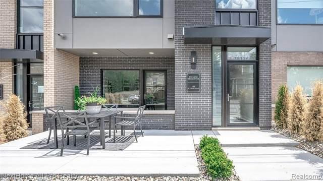 105 N Center Cove Unit#Unit 3-Bld, Northville, MI 48167 (MLS #2210034634) :: The BRAND Real Estate