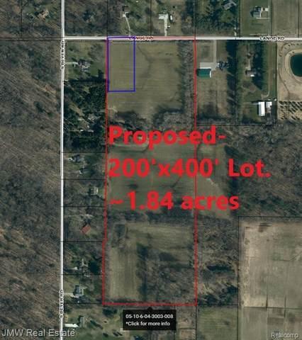 9000 Lange Rd, Birch Run, MI 48415 (MLS #2210034517) :: The BRAND Real Estate
