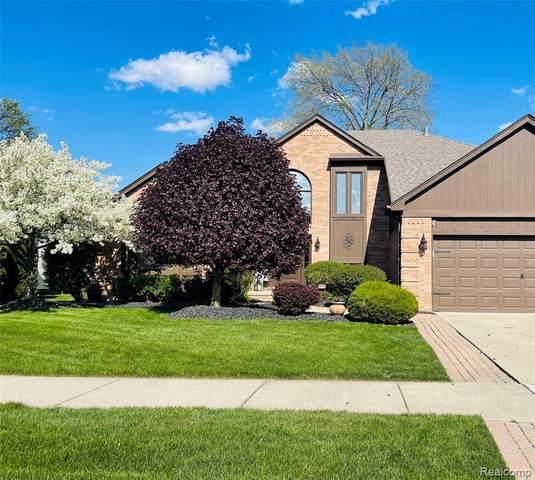 49578 Shenandoah Dr, Macomb, MI 48044 (MLS #2210035050) :: The BRAND Real Estate