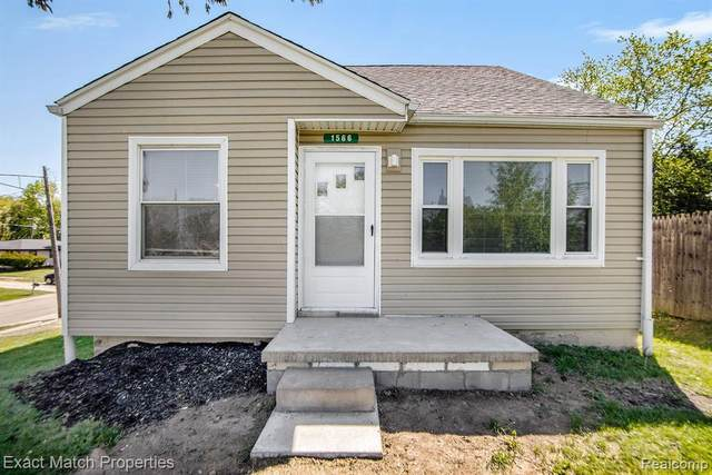 1566 Joslyn Ave, Pontiac, MI 48340 (MLS #2210035424) :: The BRAND Real Estate