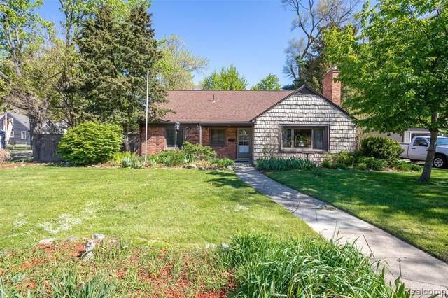 1086 W Lewiston Ave, Ferndale, MI 48220 (MLS #2210035925) :: The BRAND Real Estate