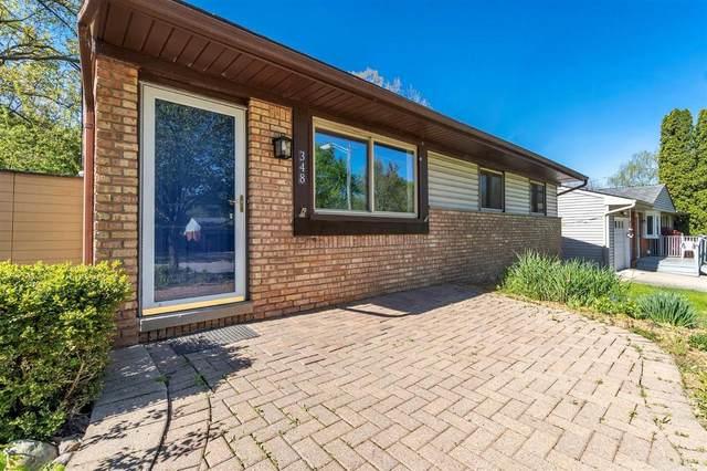 348 Larkspur St, Ann Arbor, MI 48105 (MLS #3281024) :: The BRAND Real Estate