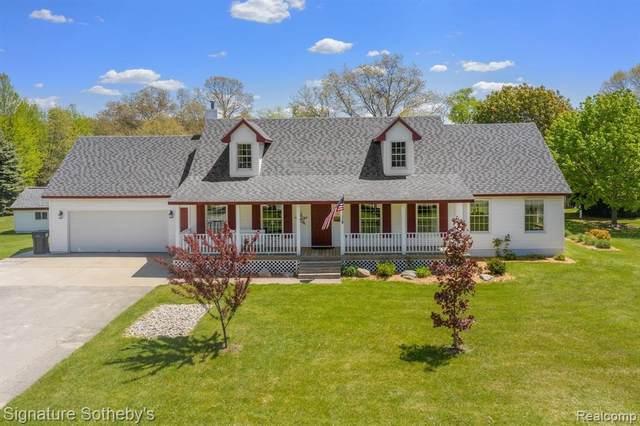 9669 Harmon Ln, South Lyon, MI 48178 (MLS #2210036275) :: The BRAND Real Estate