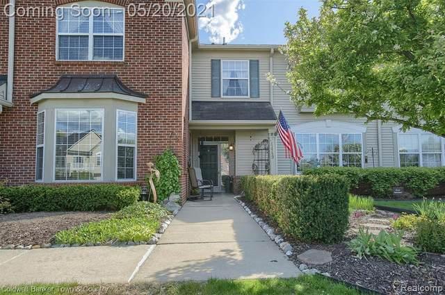 4449 Aster Blvd, Howell, MI 48843 (MLS #2210035074) :: The BRAND Real Estate