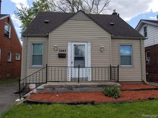 1043 Garfield Ave, Lincoln Park, MI 48146 (MLS #2210034784) :: The BRAND Real Estate