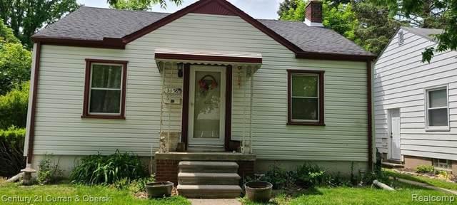 3458 Alice St, Dearborn, MI 48124 (MLS #2210037907) :: Kelder Real Estate Group